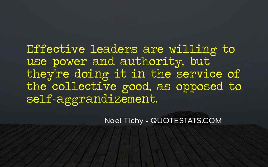Quotes About Effective Leaders #726893