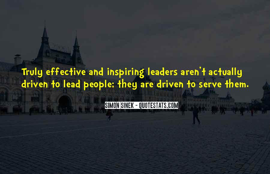 Quotes About Effective Leaders #814221