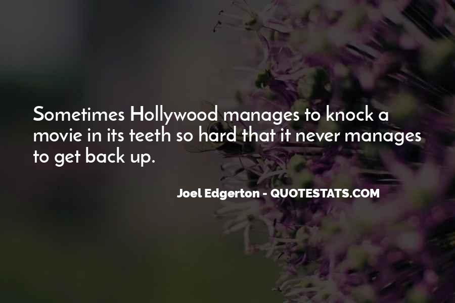 Knock Back Quotes #1851325