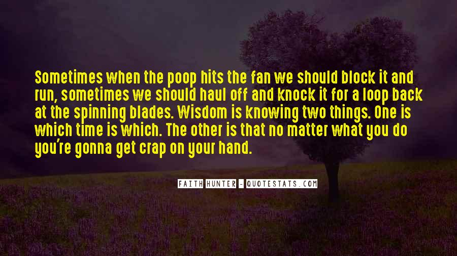 Knock Back Quotes #249468