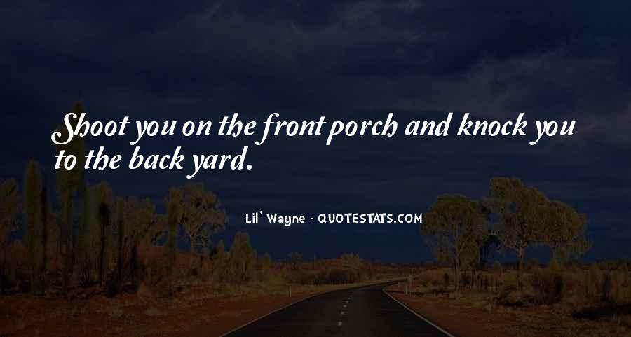 Knock Back Quotes #802405