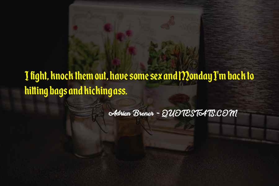 Knock Back Quotes #963300