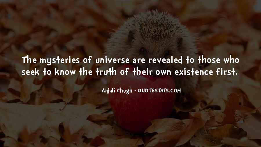 Know The Truth First Quotes #1392235