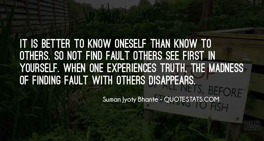 Know The Truth First Quotes #180881