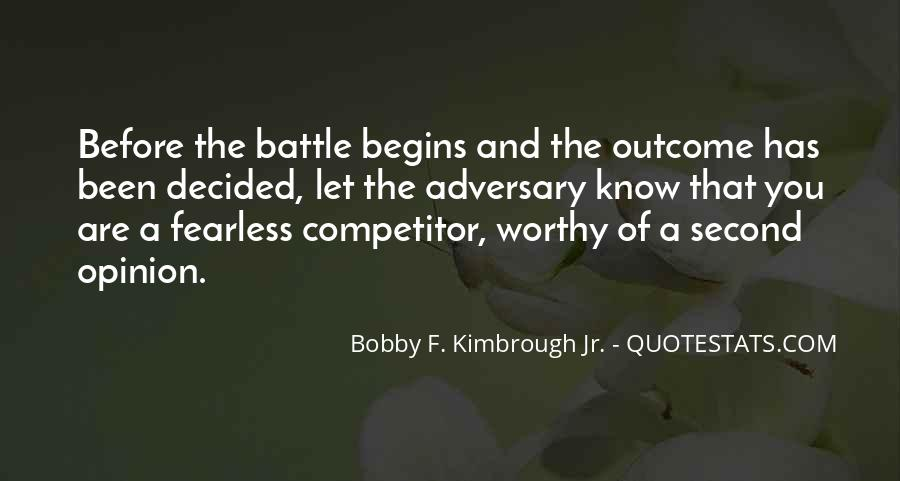 Know Your Competitor Quotes #119693