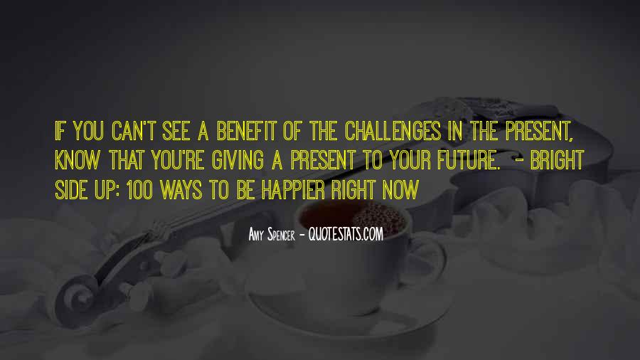 Know Your Future Quotes #1067889