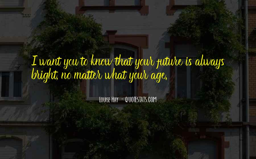 Know Your Future Quotes #1315759