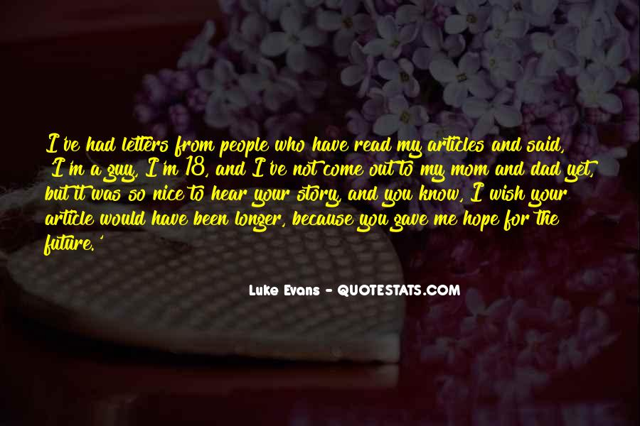 Know Your Future Quotes #413531