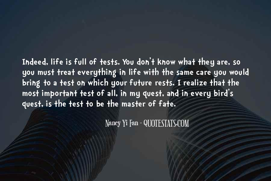 Know Your Future Quotes #53262
