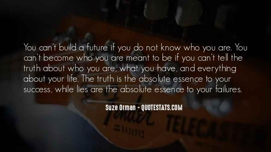 Know Your Future Quotes #549866