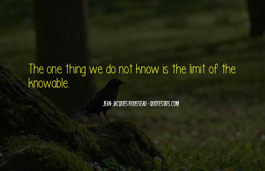 Know Your Limit Quotes #126676