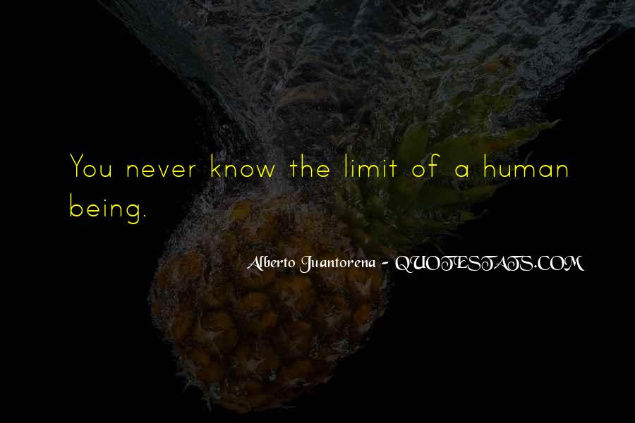 Know Your Limit Quotes #189048