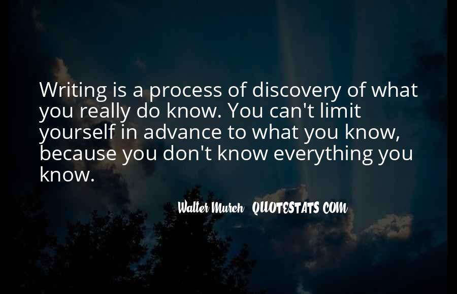 Know Your Limit Quotes #34231