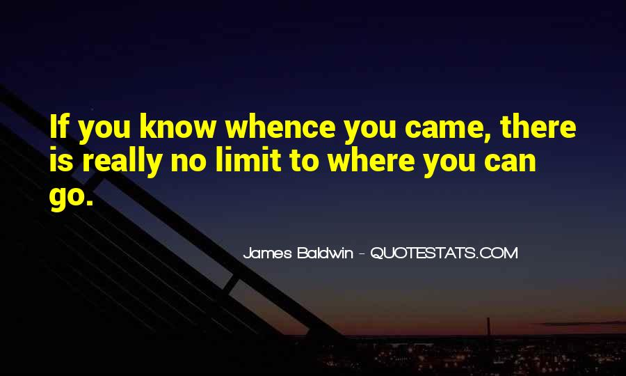 Know Your Limit Quotes #737590