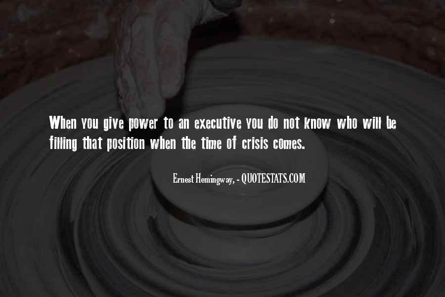 Know Your Position Quotes #130799