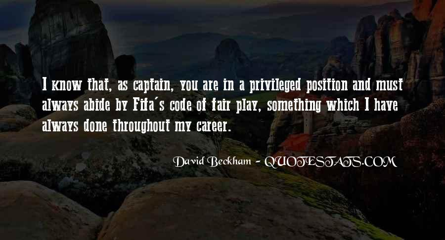 Know Your Position Quotes #149785