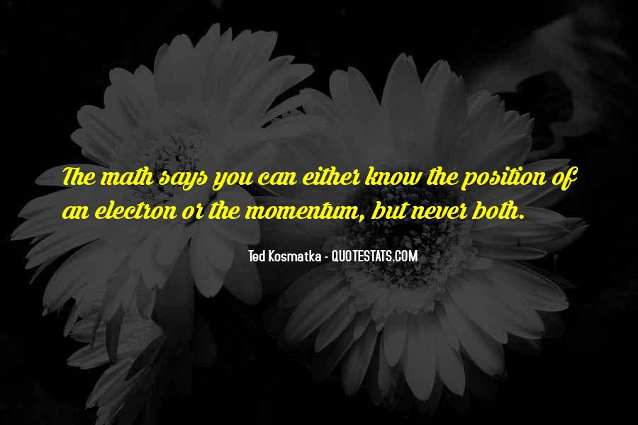Know Your Position Quotes #199132