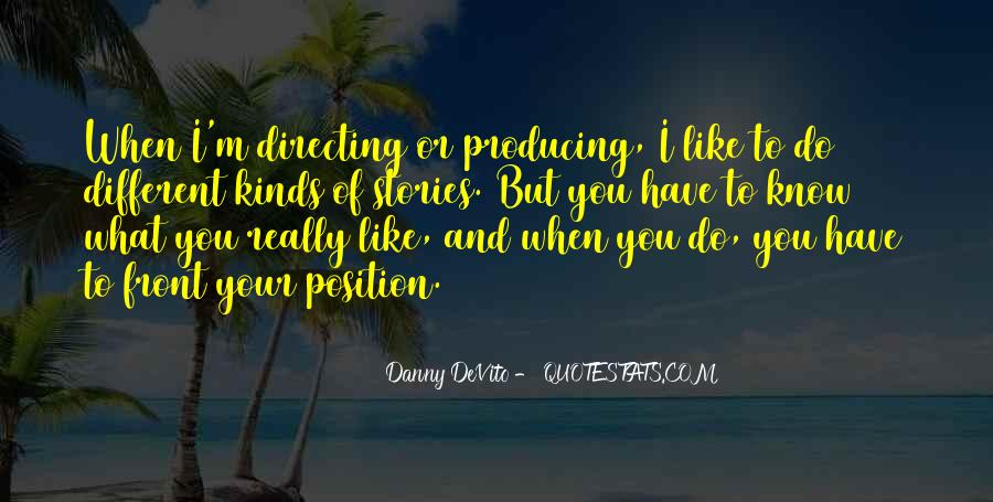 Know Your Position Quotes #589712