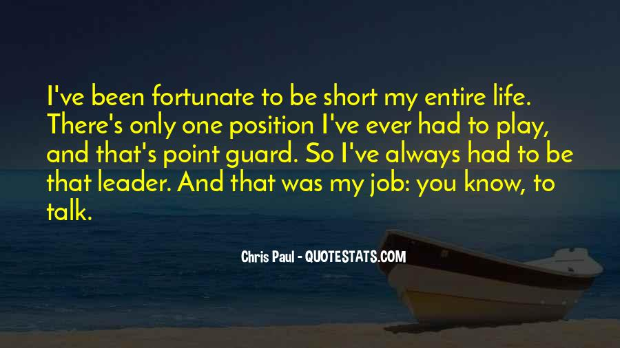 Know Your Position Quotes #74934