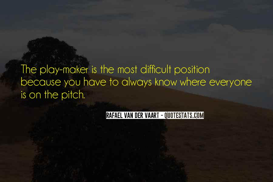 Know Your Position Quotes #91678