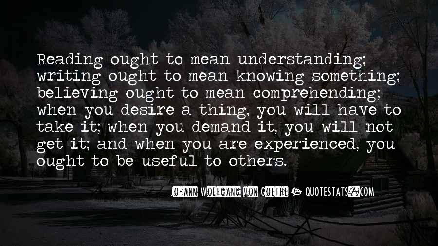 Knowing Vs Believing Quotes #123502