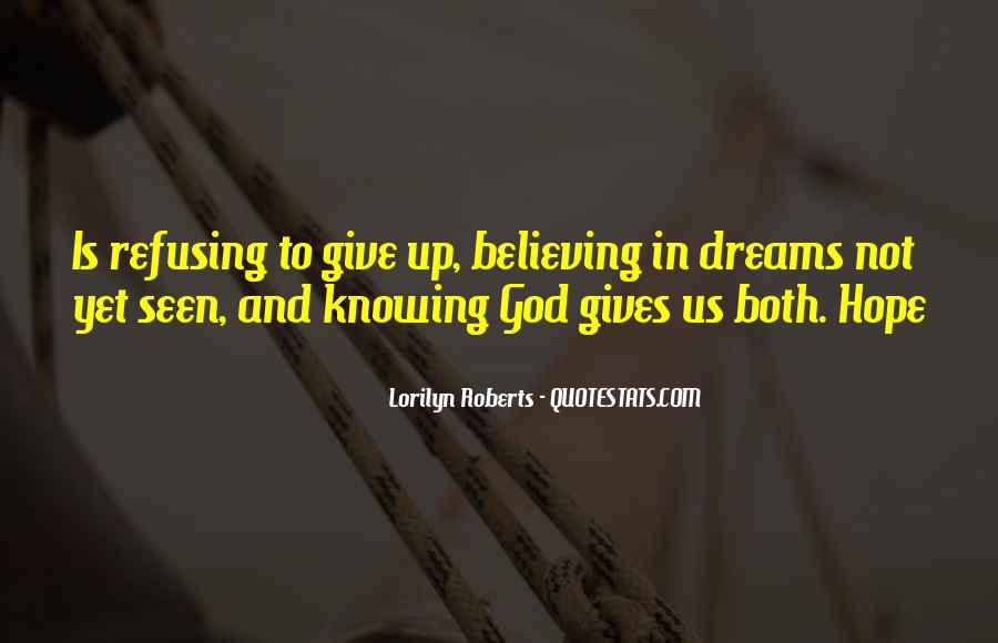 Knowing Vs Believing Quotes #332551