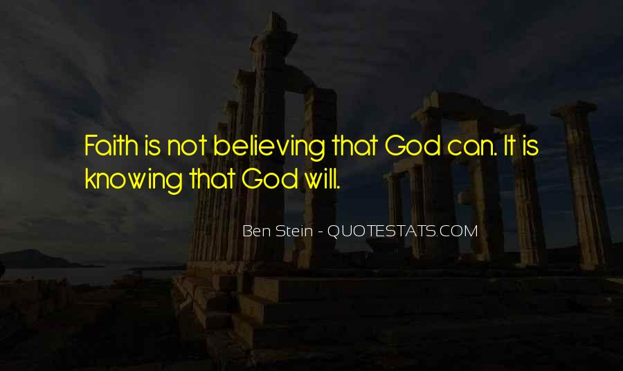 Knowing Vs Believing Quotes #482287