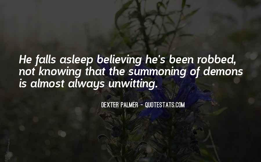 Knowing Vs Believing Quotes #618030
