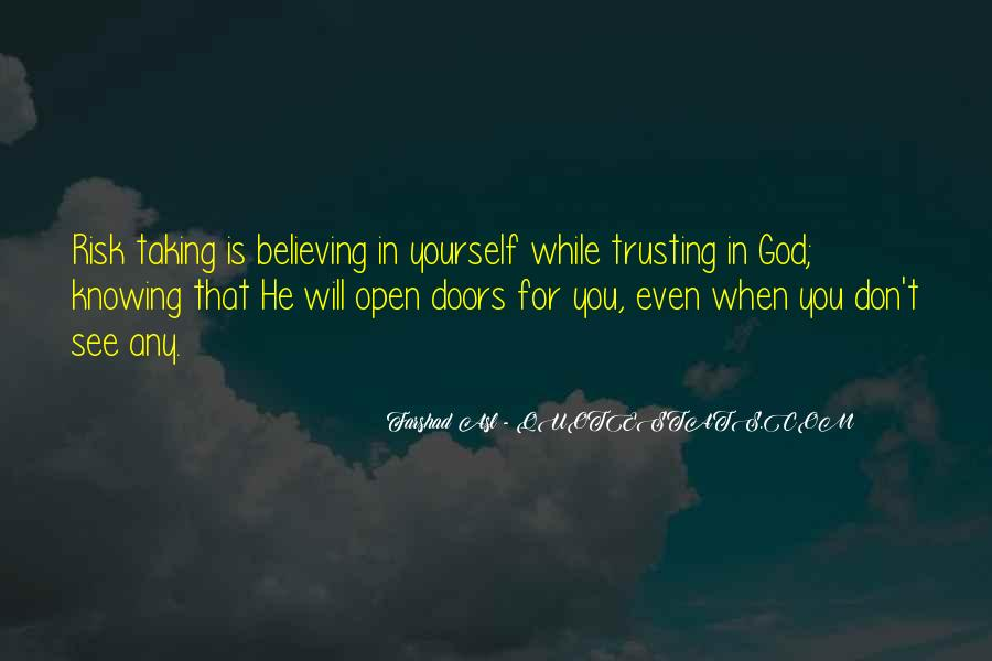 Knowing Vs Believing Quotes #943717