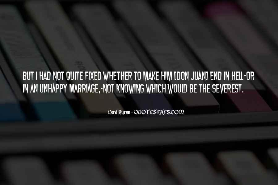 Knowing When A Marriage Is Over Quotes #155340