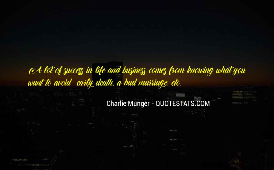Knowing When A Marriage Is Over Quotes #35401