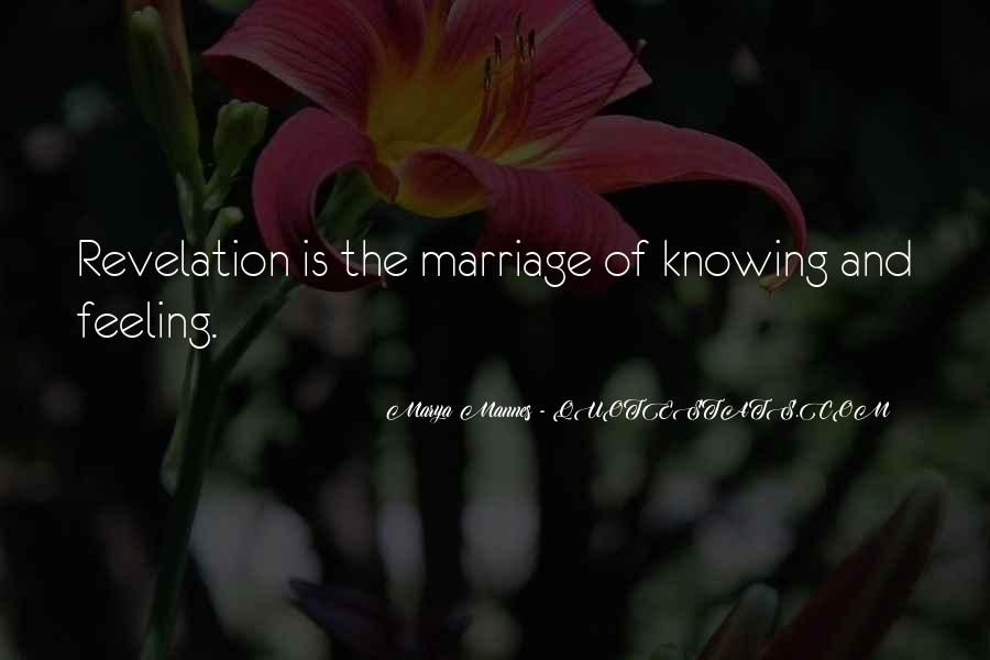 Knowing When A Marriage Is Over Quotes #419622