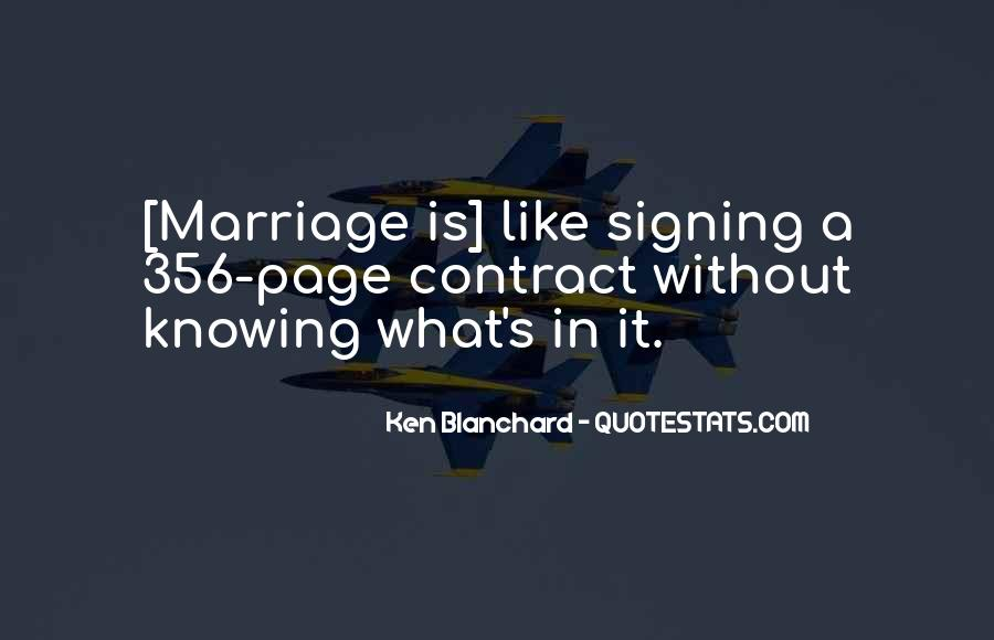 Knowing When A Marriage Is Over Quotes #487222