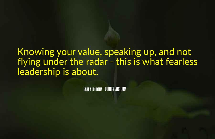 Knowing Yourself Leadership Quotes #1001722