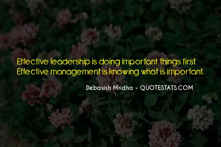 Knowing Yourself Leadership Quotes #1327120