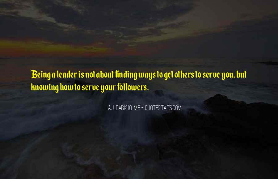 Knowing Yourself Leadership Quotes #592072