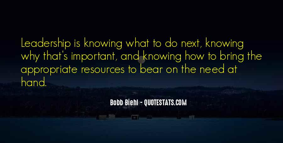Knowing Yourself Leadership Quotes #629876