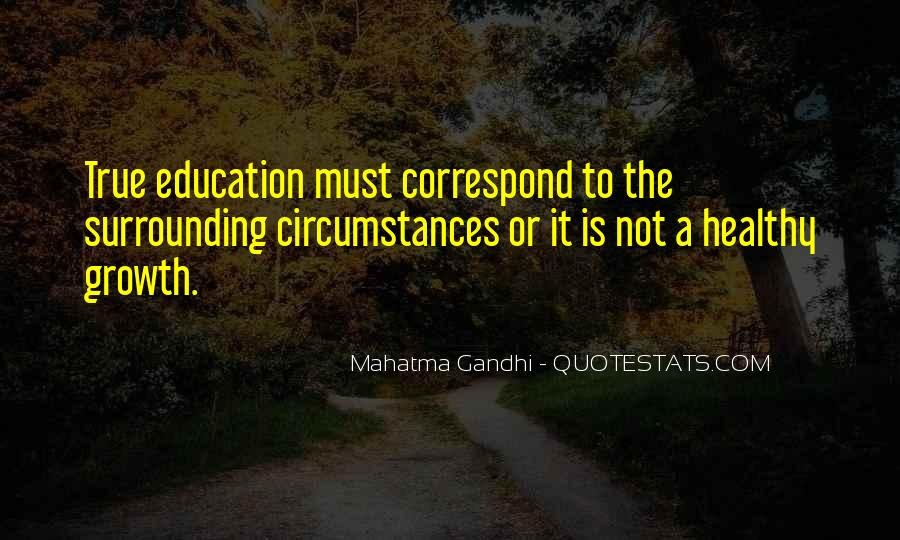 Quotes About Educational Growth #1553301