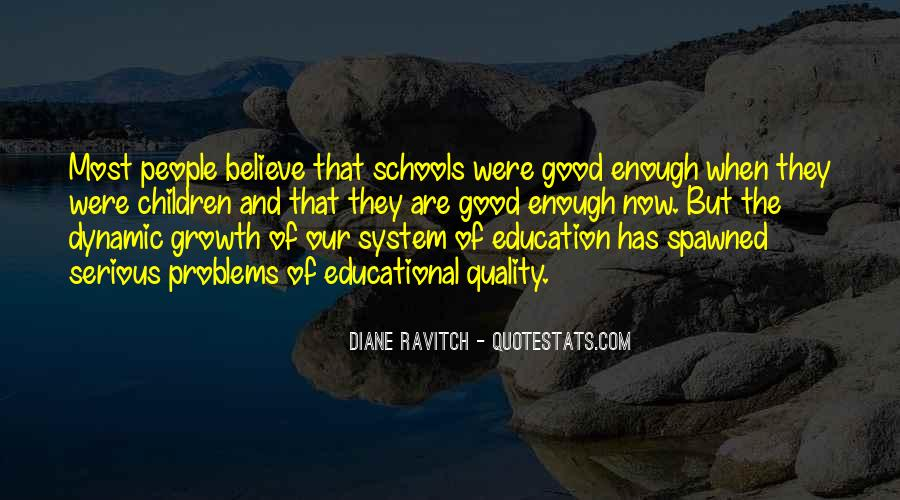 Quotes About Educational Growth #258391