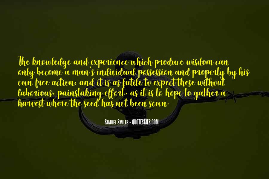 Knowledge Versus Experience Quotes #44540