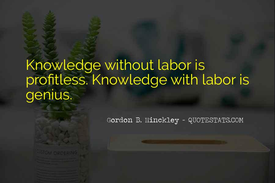 Knowledge Without Quotes #129366