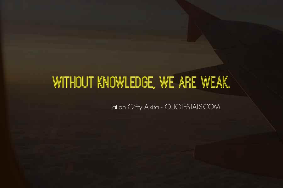 Knowledge Without Quotes #169906