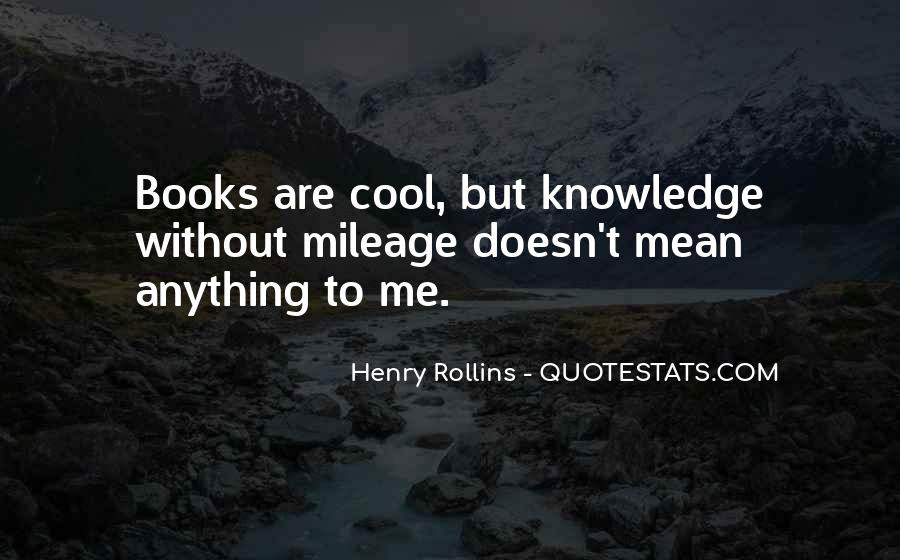 Knowledge Without Quotes #191005