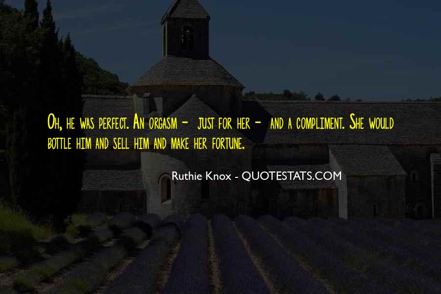 Knox Quotes #17070