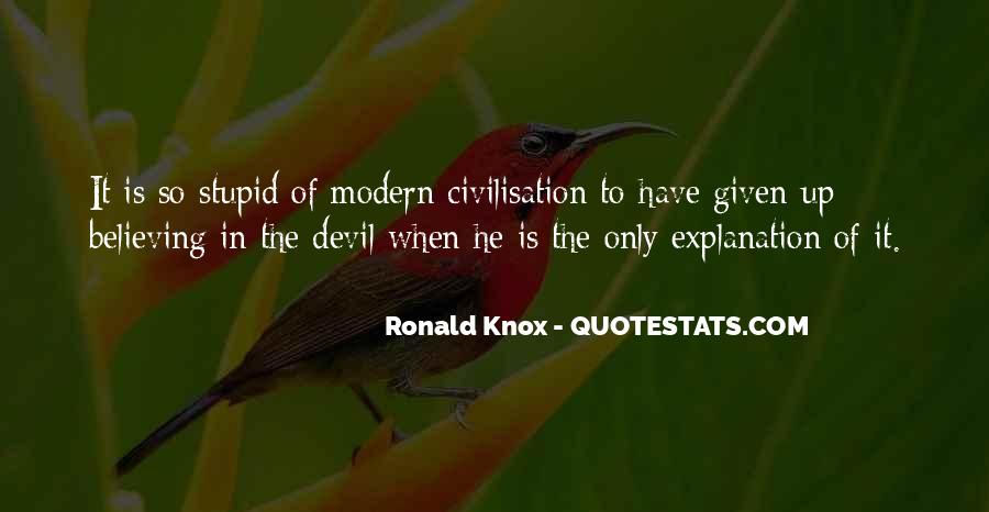 Knox Quotes #438197