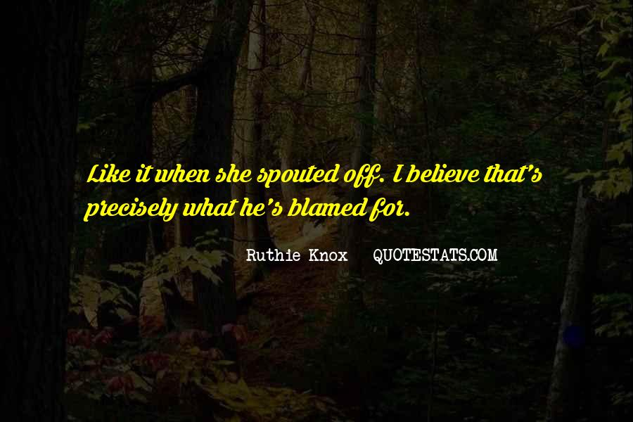 Knox Quotes #488570