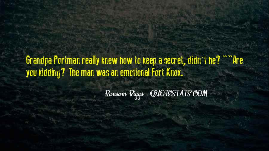 Knox Quotes #547506