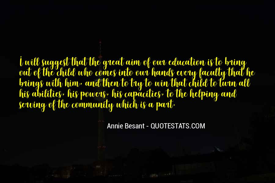Quotes About Education And Helping Others #1180565