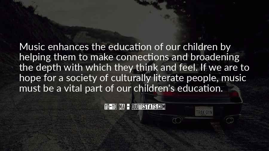 Quotes About Education And Helping Others #164152