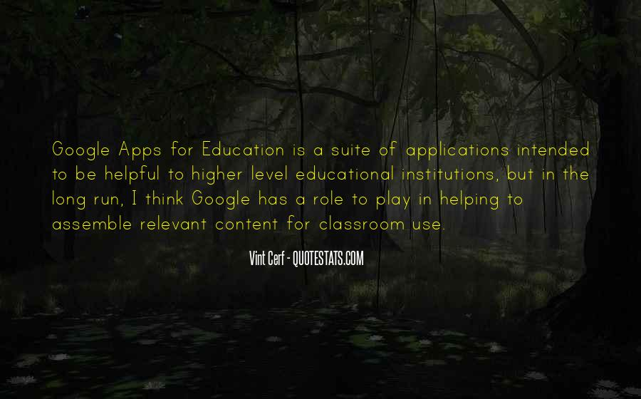 Quotes About Education And Helping Others #322069